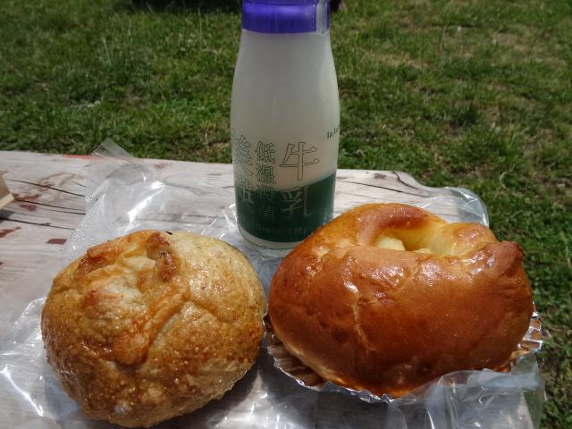 パンと牛乳